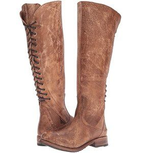Bed Stu Surrey Boot Caramel Lux Leather Boots 6.5